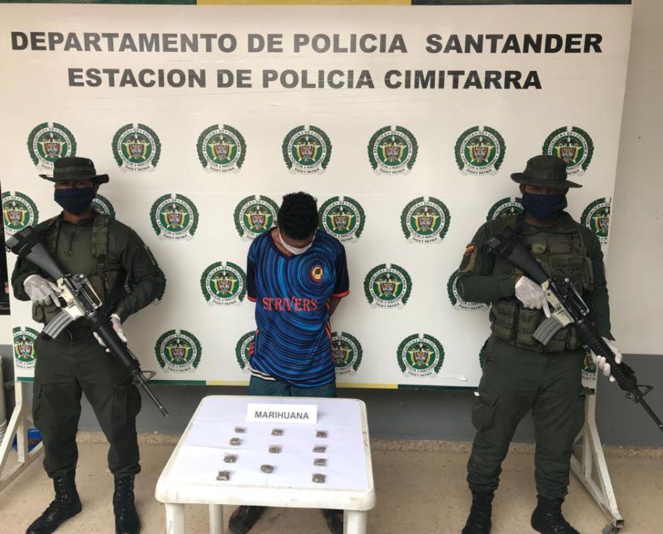 Violando la cuarenta y con droga fue sorprendido hombre en Cimitarra | Justicia | EL FRENTE