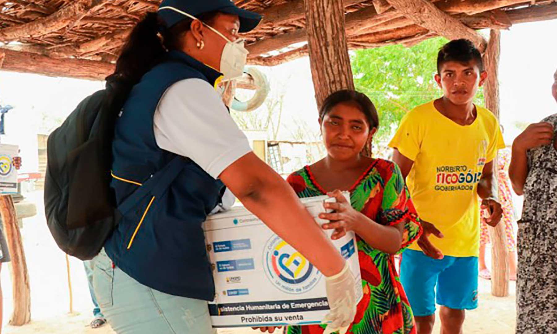 Unidad de Gestión del Riesgo avanza en la entrega de asistencia humanitaria a los colombianos | Nacional | Política | EL FRENTE