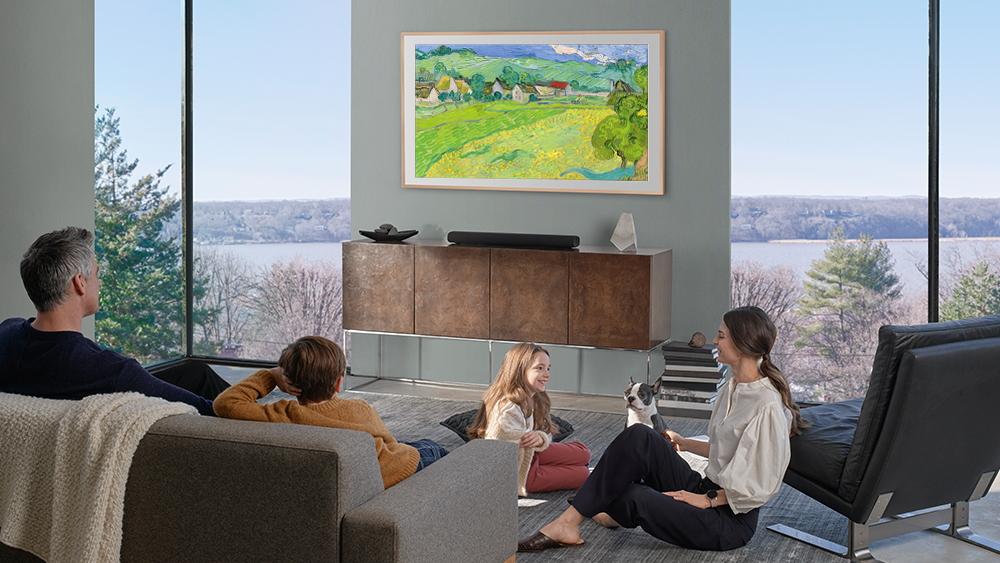 El Smart TV que convierte su casa en una galeria de arte | Tecnología | Variedades | EL FRENTE