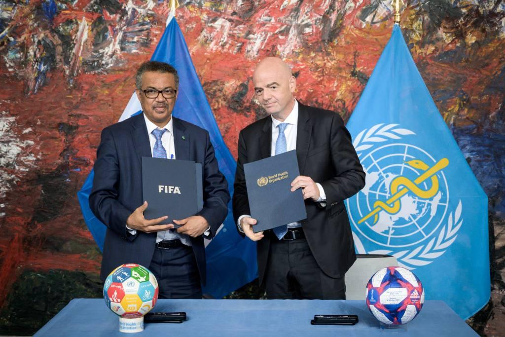 FIFA y OMS elaboran documento para evaluación de riesgos | EL FRENTE
