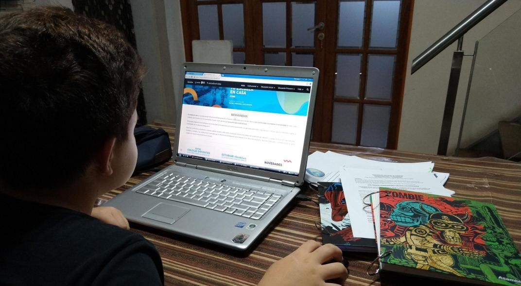 200 niños no pueden estudiar de manera virtual en el norte de la ciudad | Metro | EL FRENTE