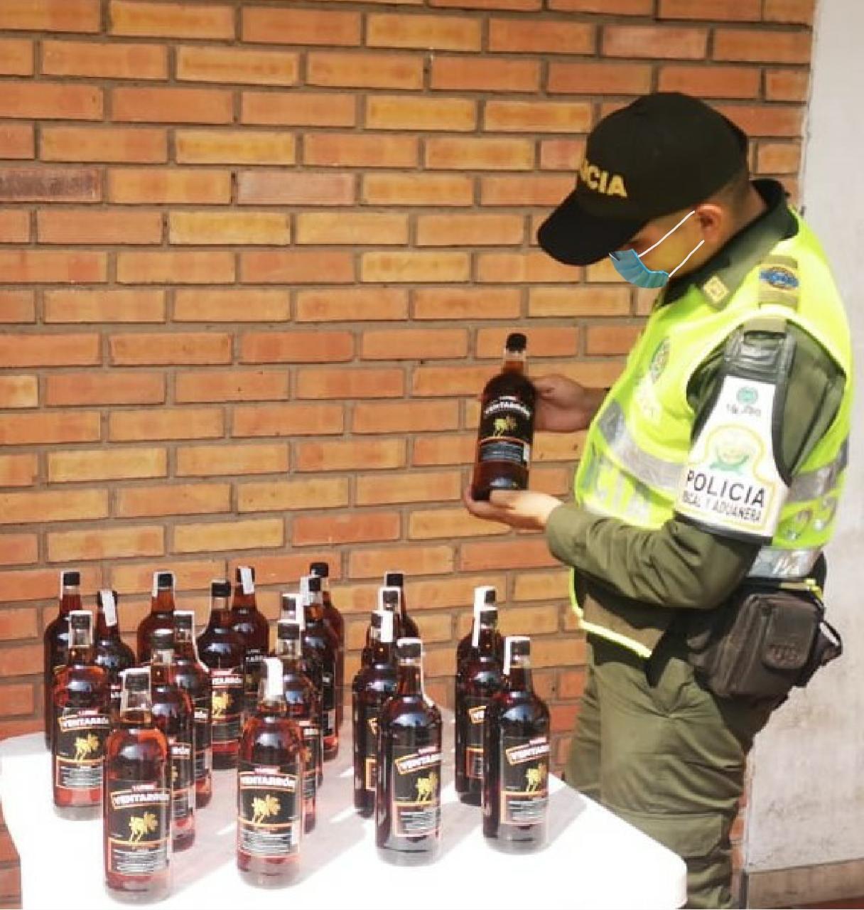 En Cúcuta fueron incautados más 1.500 unidades de licor | EL FRENTE
