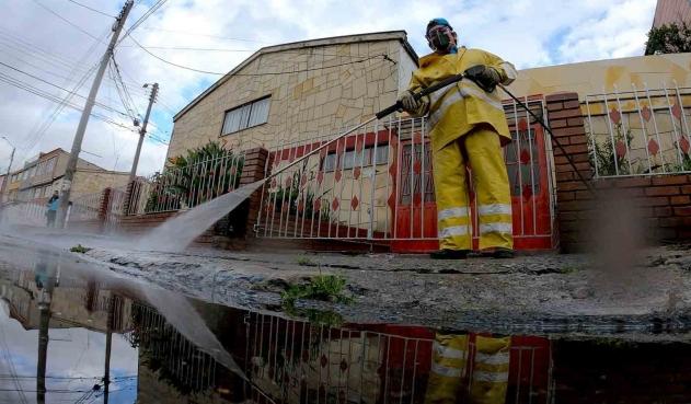 Localidad de Bogotá sería cerrada por alto número de contagios | Colombia | EL FRENTE