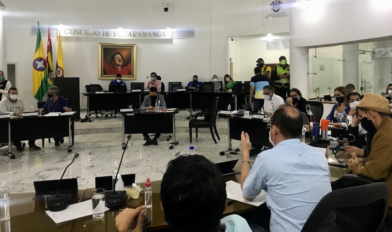 Concejo le dijo sí al Plan de Desarrollo de la Alcaldía de Bucaramanga  | EL FRENTE