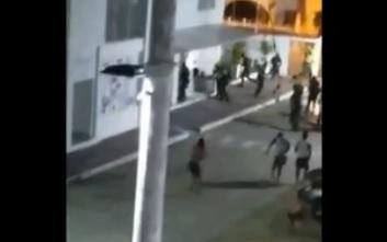 Uniformados se prendieron a tiros, afortunadamente ninguno atinó  | EL FRENTE