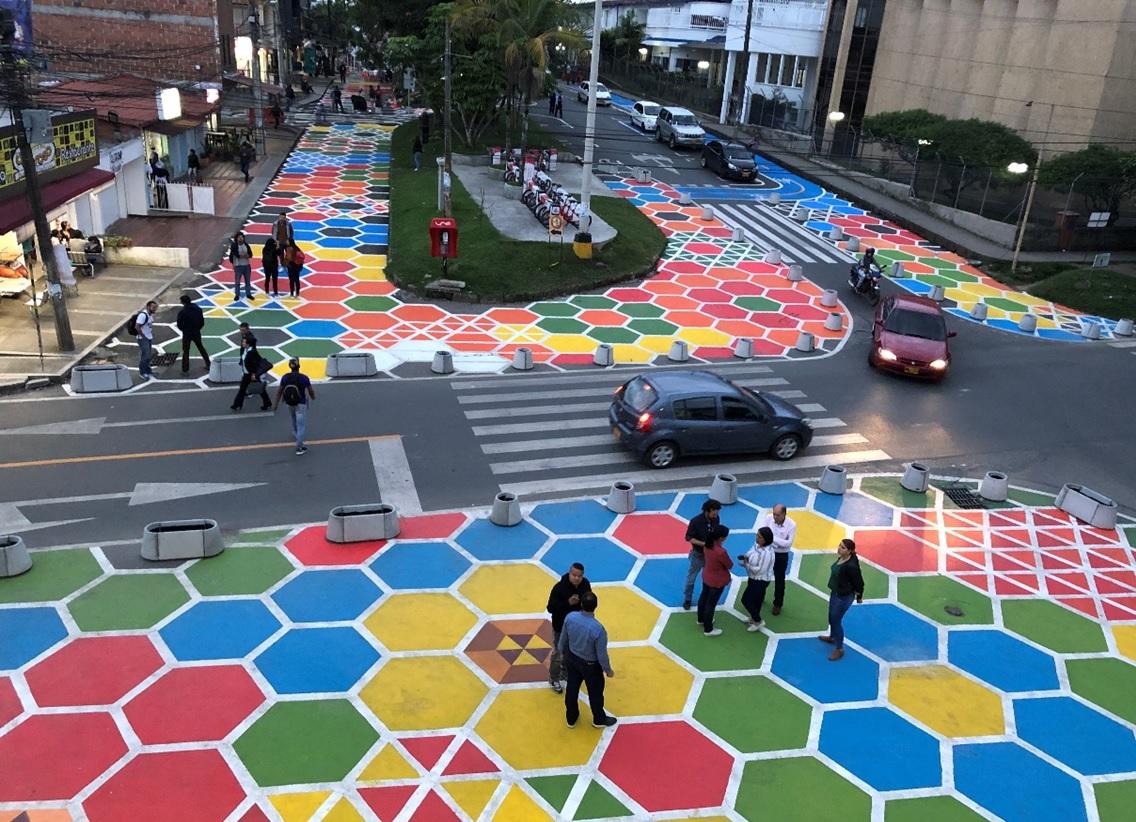 El urbanismo táctico se tomó Rionegro y Montería  | EL FRENTE