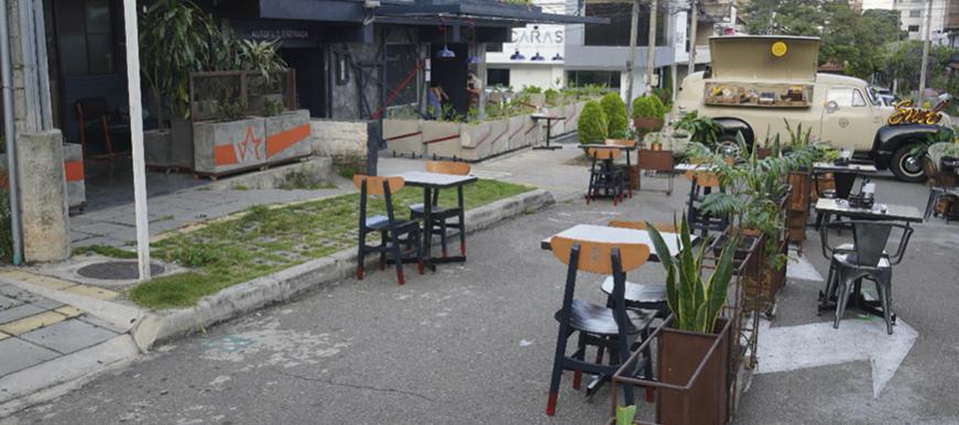 Bucaramanga realizó piloto para apertura de restaurantes   EL FRENTE
