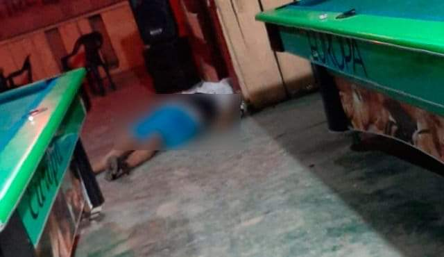 Hombre fue asesinado dentro de un Pool en Tibú, Norte de Santander   EL FRENTE