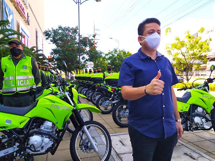 Fortalecen parque automotor de la Policía en Floridablanca | EL FRENTE
