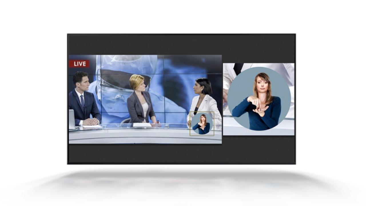 Nueva Smart TV incluye lenguajes inclusivos para personas con dificultades visuales o auditivas | EL FRENTE