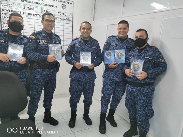 Fecha especial para guardianes e internos. Celebraron el día del INPEC en EPCMS de Barrancabermeja   EL FRENTE
