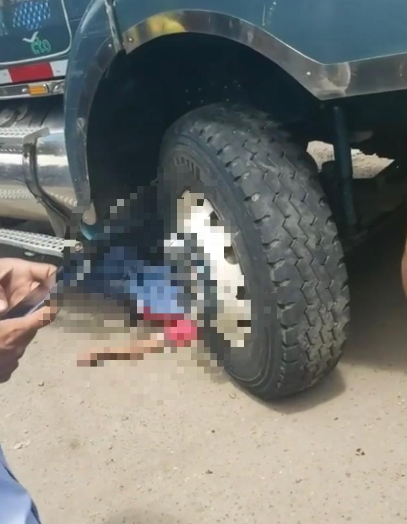 Ciclista fue arrollado por un camión en la vía Chimitá | EL FRENTE