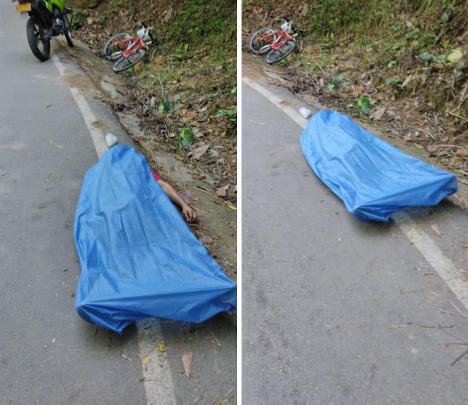 Ciclista murió en la vía al Santísimo  | EL FRENTE