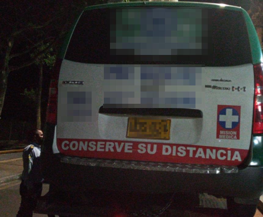 Murió luego de ser arrollado  por una ambulancia   EL FRENTE