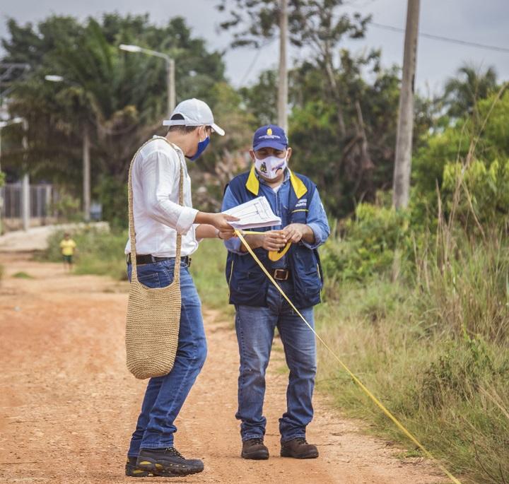 Eduba en Barrancabermeja inspeccionó el lote para el proyecto de vivienda en San Rafael de Chucurí | Municipios | Santander | EL FRENTE