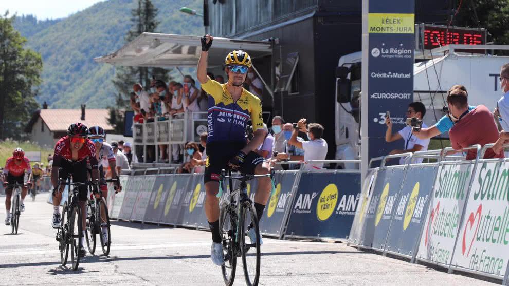 Roglic ganó en Lélex y lidera el Tour de L´Ain  | Internacional | Deportes | EL FRENTE