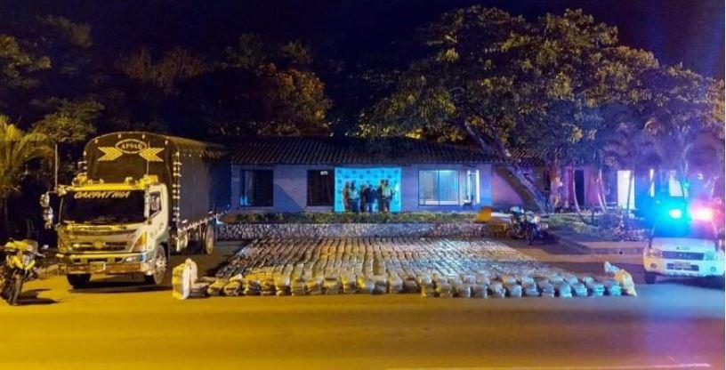 En medio de la cuarentena Policía incautó el mayor cargamento de marihuana | Nacionales | Colombia | EL FRENTE