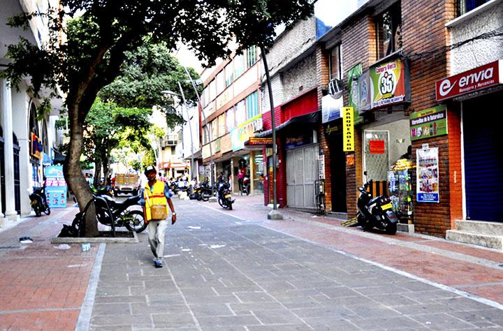 A partir del lunes autoridades harán un cerco en el centro de Bucaramanga   EL FRENTE