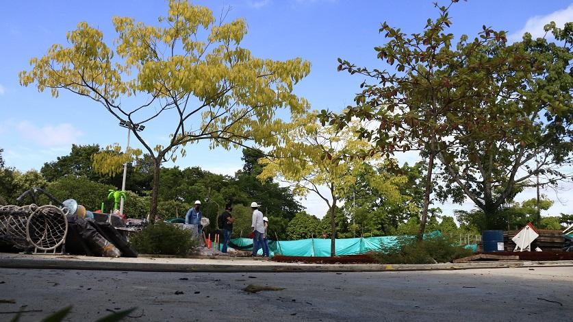 Reactivados trabajos de construcción de parques y espacios de inclusión en barrios de Barranca | Santander | EL FRENTE