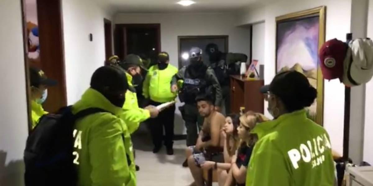 Ladrón pedía a su novia que no le molestara por teléfono mientras robaba  | Colombia | EL FRENTE