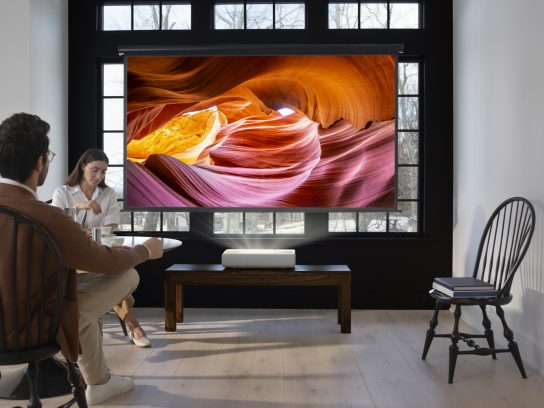 Samsung presenta el proyector láser 4K de alcance ultracorto: The Premiere | EL FRENTE