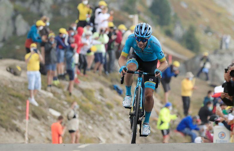 """Soberbio vuelo de """"Supermán"""" López en el Tour de Francia    EL FRENTE"""