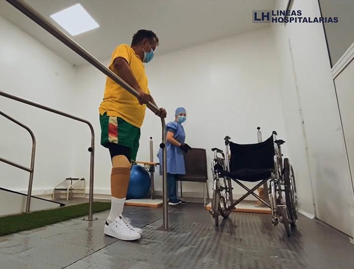 Así es el renovado Laboratorio de Órtesis, Prótesis y Calzado de Líneas Hospitalarias | EL FRENTE