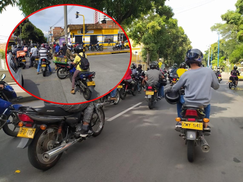 Mototaxistas protestan y piden que los dejen trabajar   EL FRENTE