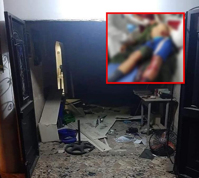 Dos policías heridos tras atentado contra estación de Policía en Curumaní   EL FRENTE