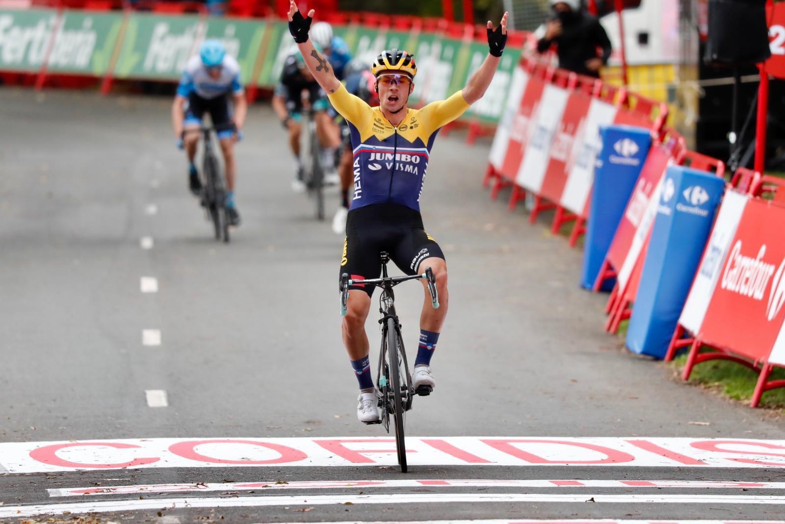 Primoz Roglic primer líder de la Vuelta a España | Internacional | Deportes | EL FRENTE