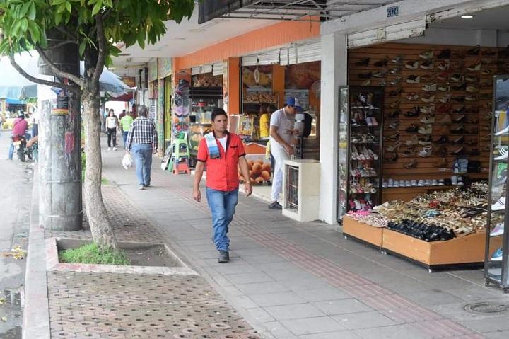 Campaña Sello de Confianza llegó a Barranca. Comercio Seguro y Compra lo Nuestro   EL FRENTE