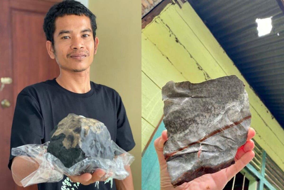 Cayó un meteorito en su casa y se convirtió en millonario   EL FRENTE