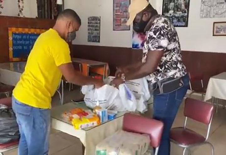 Sanandresanos recolectan ayudas para sus paisanos desde Bucaramanga | EL FRENTE