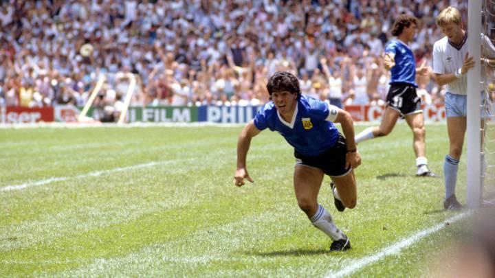 Maradona y el gol que cambió la historia del fútbol   EL FRENTE