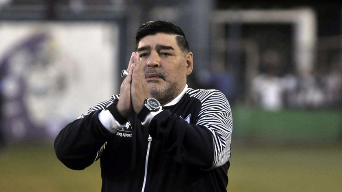 Algunas de las recordadas frases de Maradona   EL FRENTE