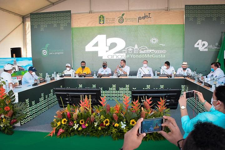 Encuentro de alcaldes del Magdalena Medio Santandereano para el progreso de la región   EL FRENTE