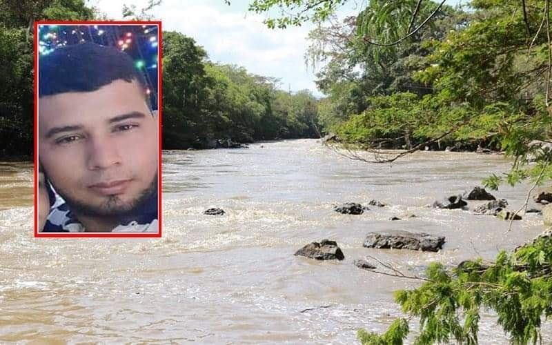 Joven desaparecido fue hallado flotando en río Fonce  | EL FRENTE