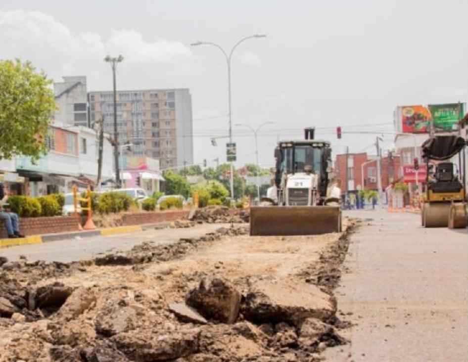 Este jueves se retoman las obras y la pavimentacion de la carrera 28 de Barrancabermeja   EL FRENTE