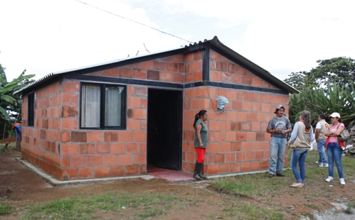 Santander fue incluido dentro de ambicioso plan de vivienda rural  | EL FRENTE