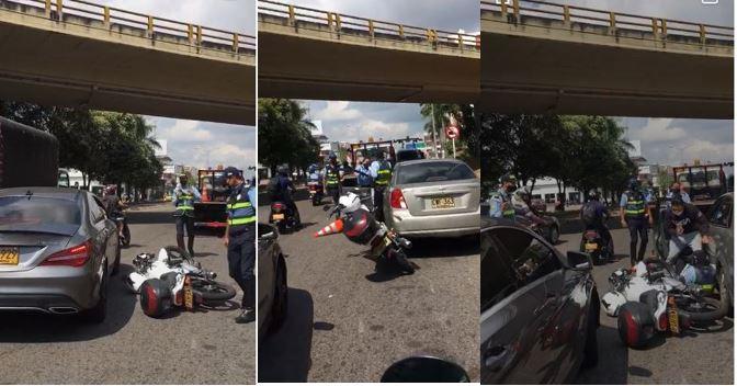 VIDEO. Agente de tránsito fue agredido en un puesto de control      | Justicia | EL FRENTE