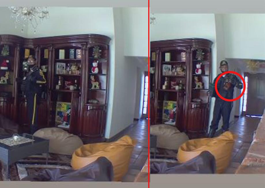 VIDEO. Quería hurtar una botella de whisky pero el dueño lo estaba observando  | Justicia | EL FRENTE