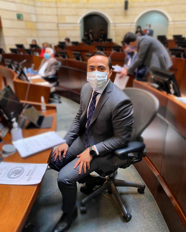 El Senador que brilla con luz propia  Por: Mg. Jaime Zafra Bueno* | Especiales | Variedades | EL FRENTE
