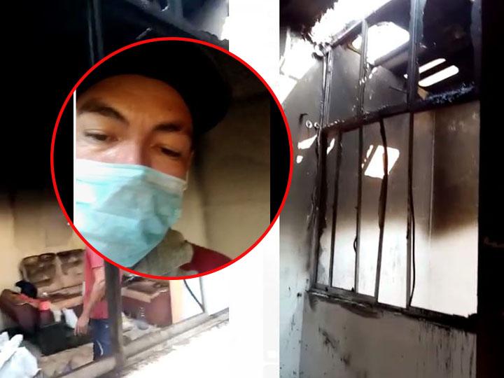 Padre y su hijo piden colaboración tras perderlo todo en un incendio   EL FRENTE