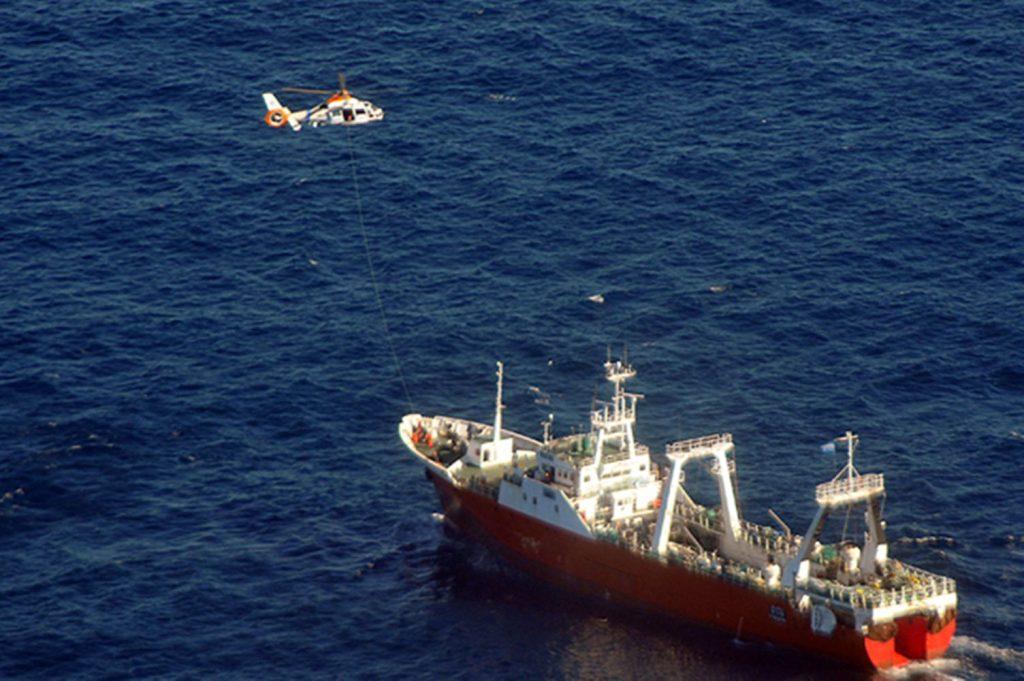 Cayó al mar y la tripulación no se dio cuenta de la desaparición  | EL FRENTE