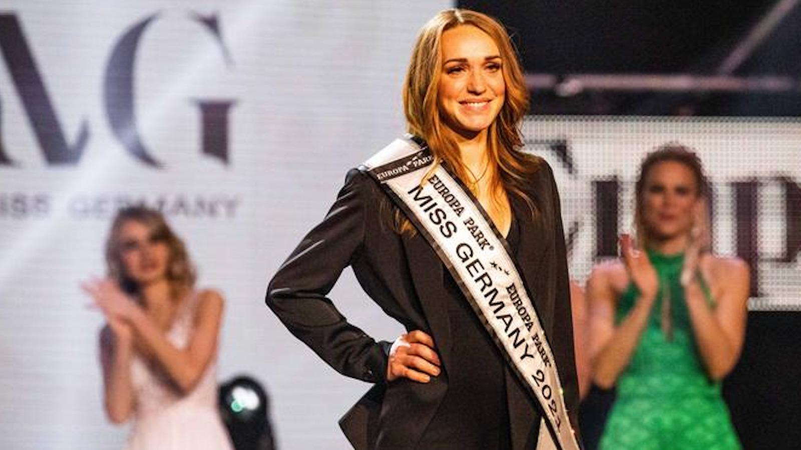 Miss Alemania 2021 es profesional y madre de dos hijos | EL FRENTE