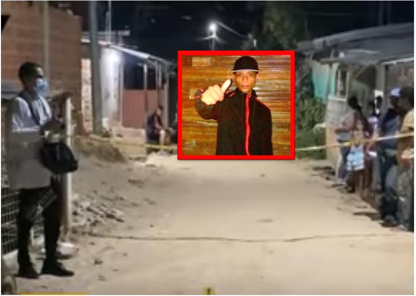 Joven fue acribillado frente a su familia en Floridablanca  | EL FRENTE