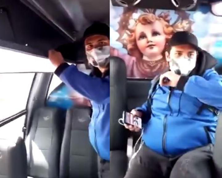 VIDEO. Denunció a sujeto que le mostró sus genitales mientras iban en un bus | EL FRENTE