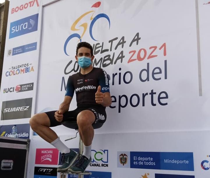 Oscar Sevilla el primer líder de la 71 Vuelta a Colombia | Nacional | Deportes | EL FRENTE
