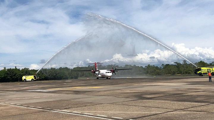 Se han aprobado 47 rutas desde la reapertura de operaciones aéreas por parte de la Aeronáutica Civil   EL FRENTE