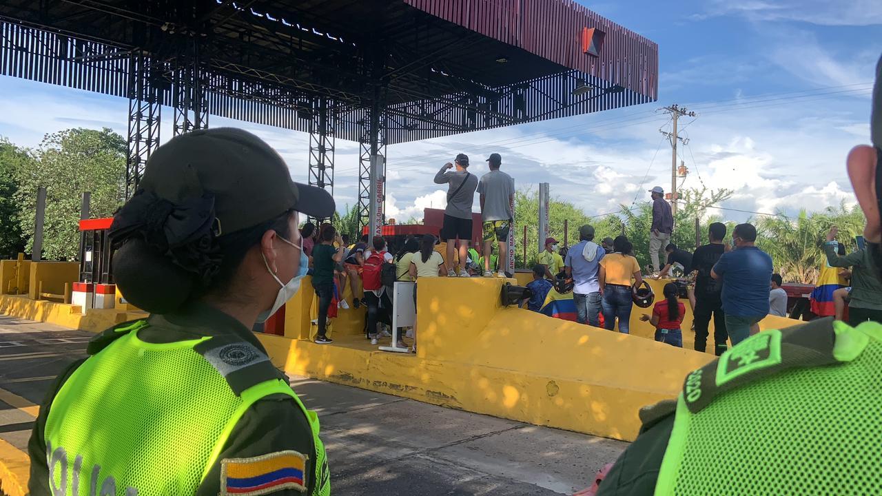Tras manifestaciones en Santander 15 personas han sido capturadas | EL FRENTE